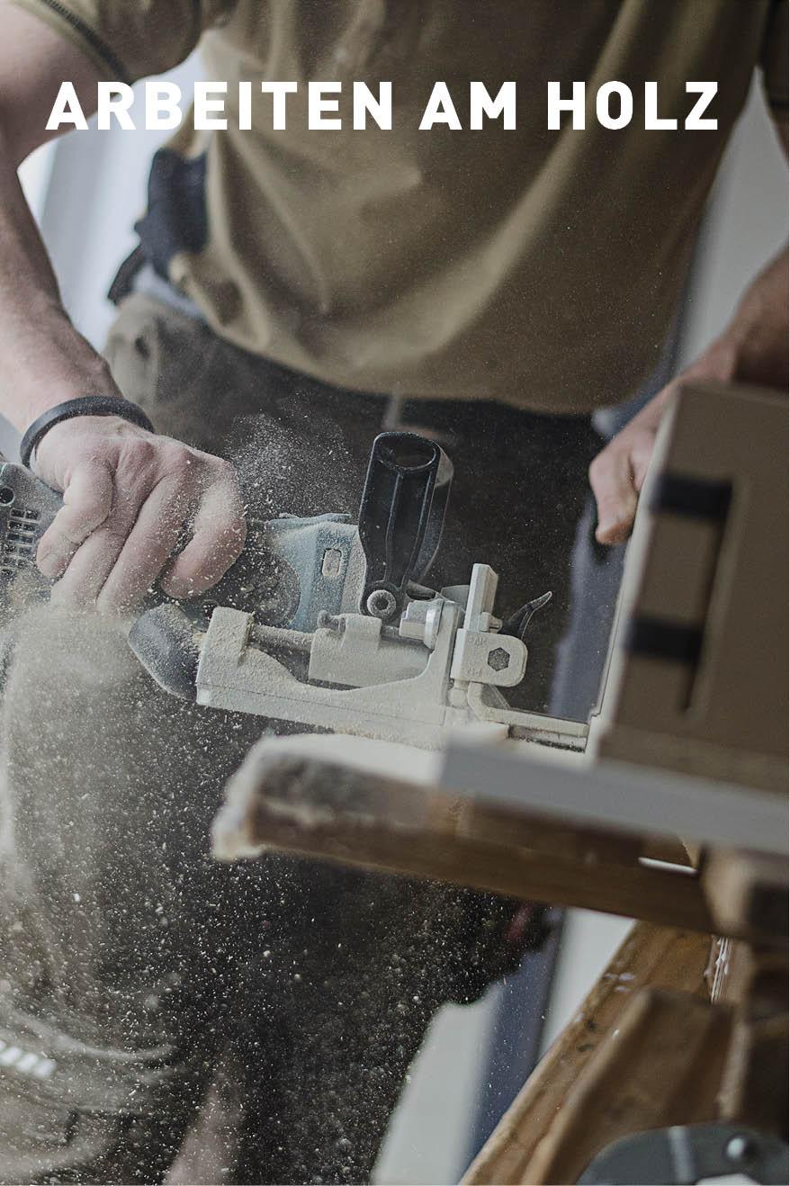 Arbeiten am Holz