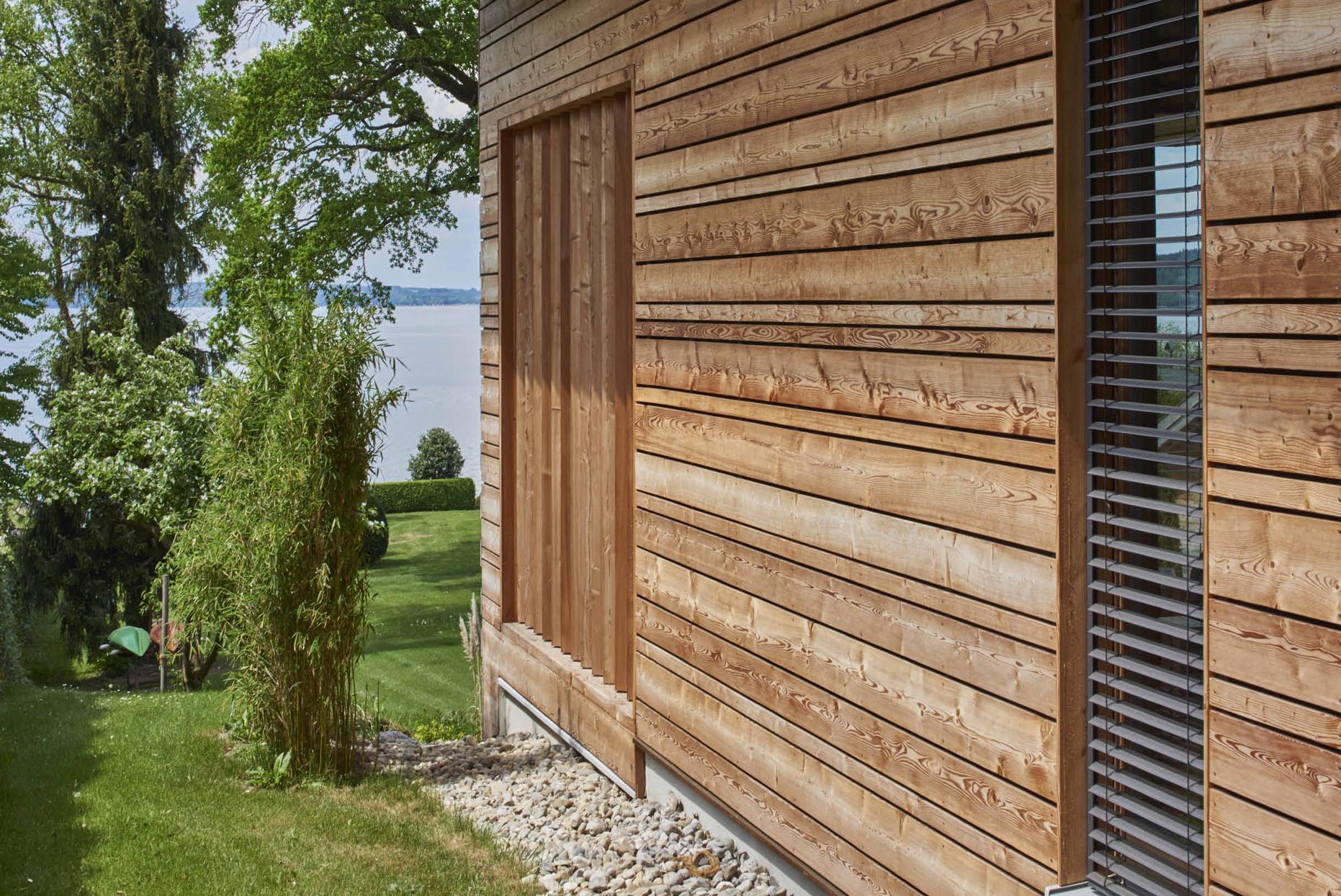 Holz100-Fassade