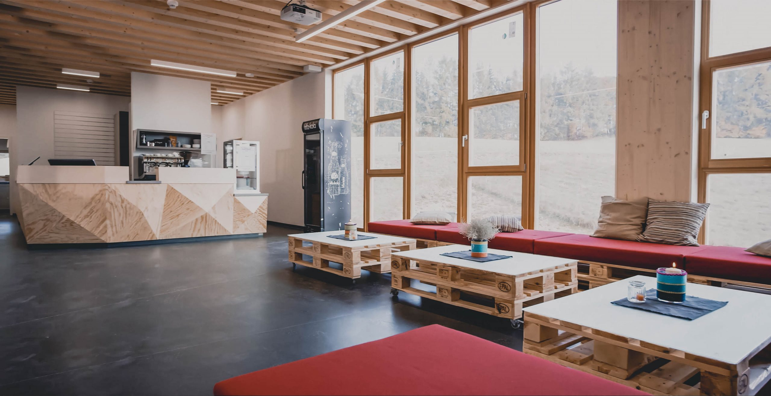 Kletterhalle Lounge