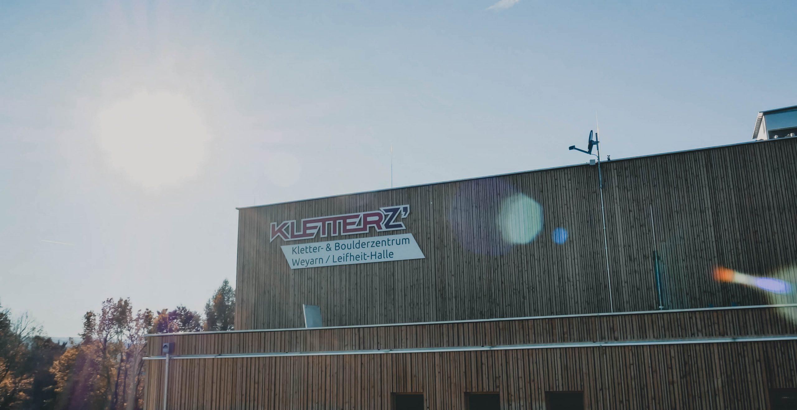 Kletterhalle Weyarn