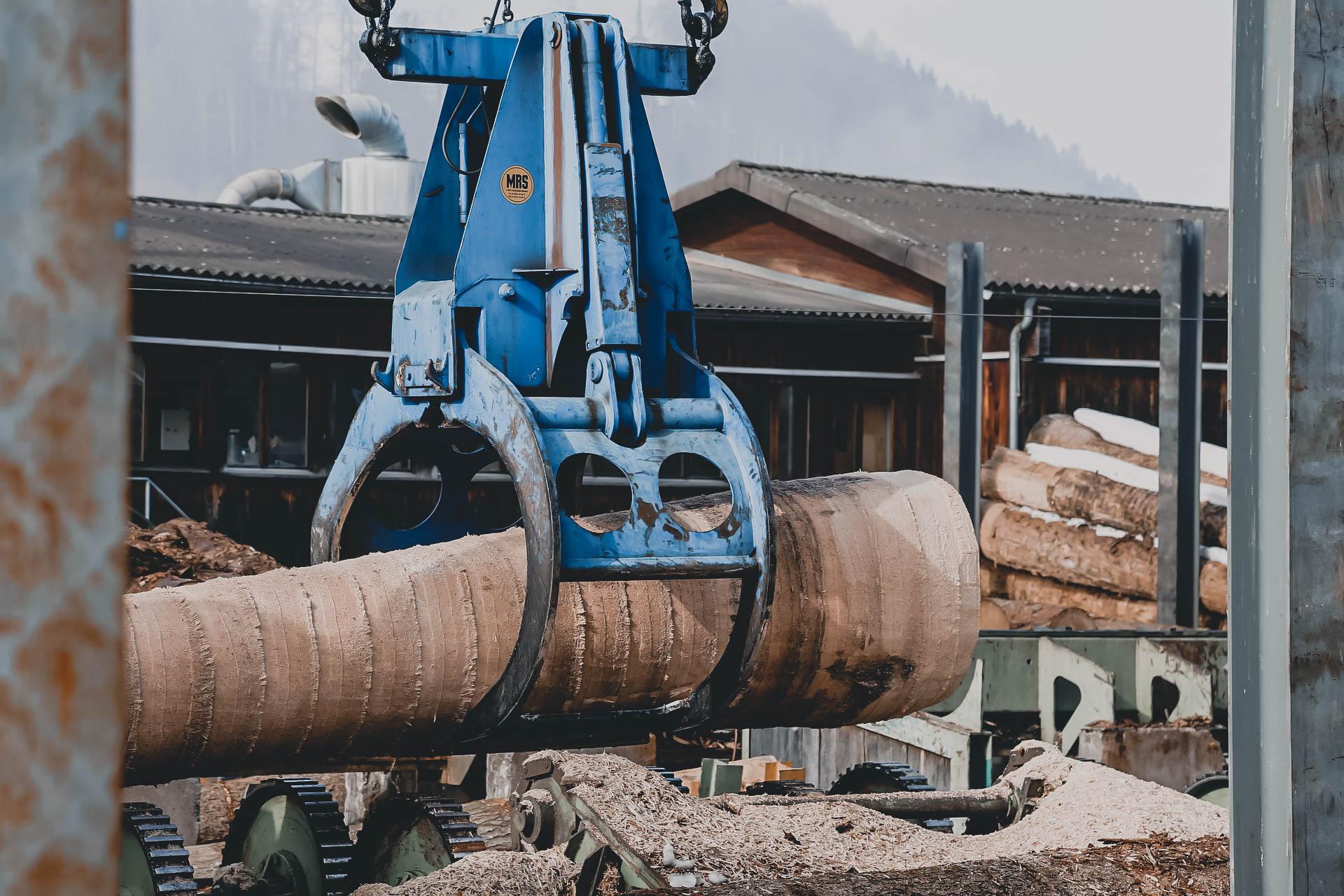 Sägewerk Holz